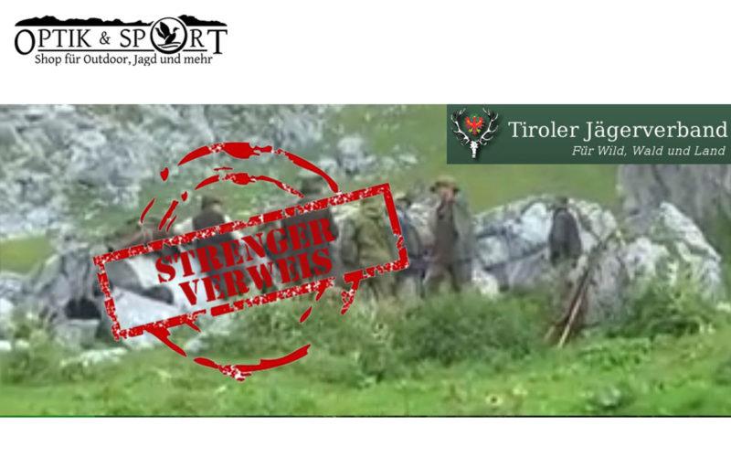 Verweis Tiroler Jägerschaft