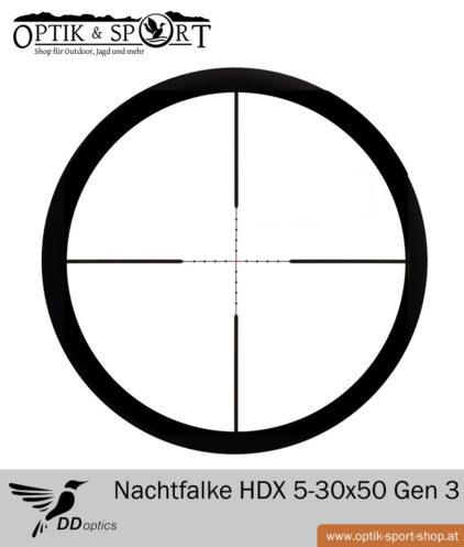 DDoptics Nachtfalke Tactical 5-30x50 Gen 3 Mildot