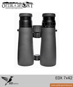DDoptics Fernglas EDX 7×42