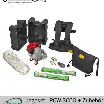 Jägerset Portable Winch PCW 3000 mit Zübehör