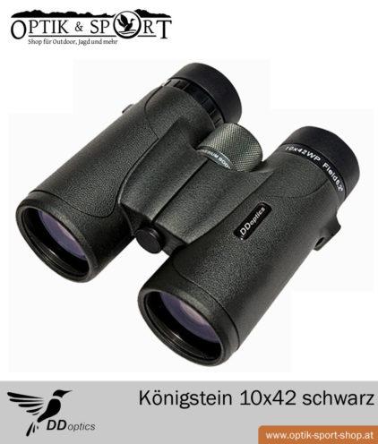 DDoptics Königstein 10x42 schwarz