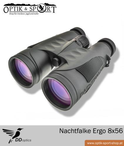 DDoptics Fernglas Nachtfalke Ergo 8x56