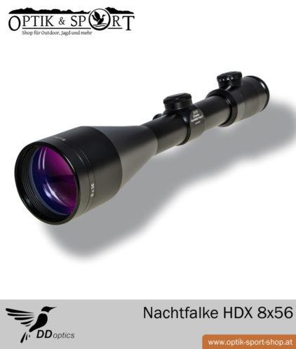 Zielfernrohr DDoptics Nachtfalke HDX 8x56