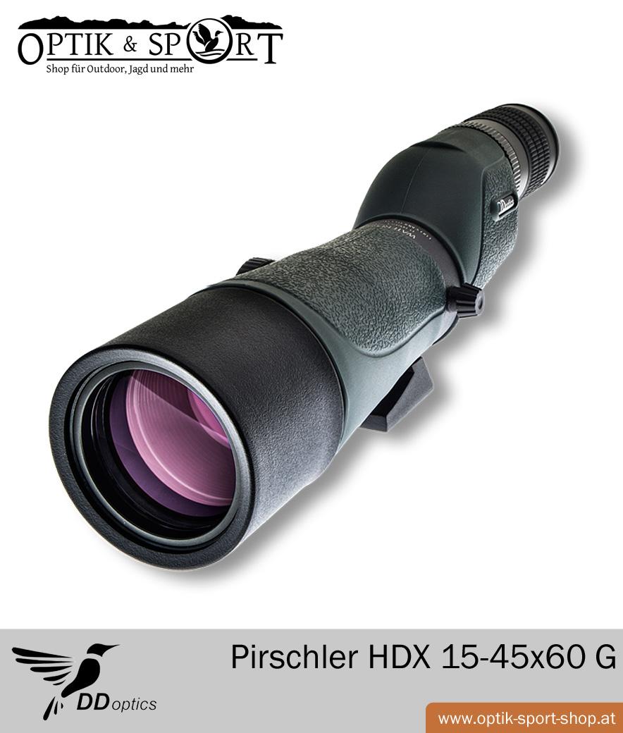 Spektiv DDoptics Pirschler HDX 15-45x60 G