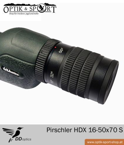 Spektiv DDoptics Pirschler HDX 16-50x70 S