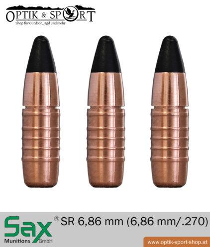 SAX SR 6,86 mm - .270 bleifrei Geschoss
