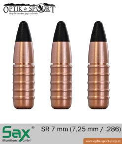 SAX SR 7 mm - .286 bleifrei Geschoss