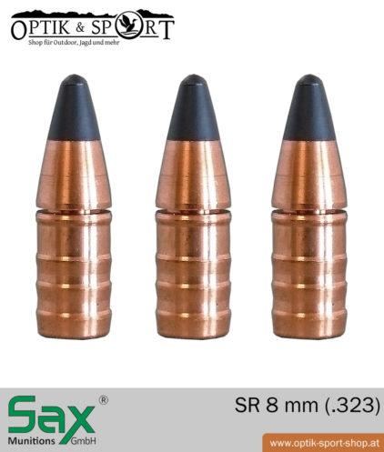 SAX SR 8 mm - .323 bleifrei Geschoss