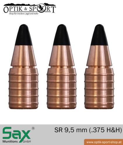 SAX SR 9,5 mm - 375 H&H bleifrei Geschoss