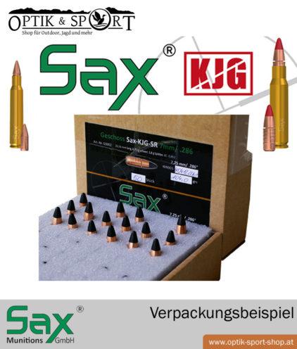 SAX Geschosse Verpackung