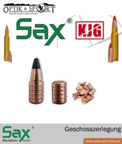 SAX SR Geschosszerlegung
