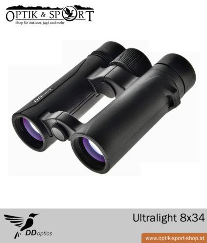 DDoptics Ultralight 8x34 Feldstecher