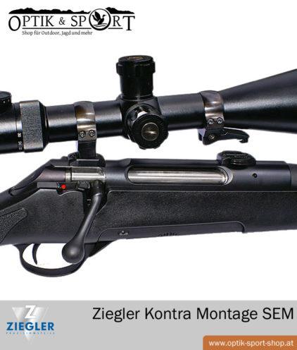 Ziegler Kontra Montage - Suhler Einhakmontage