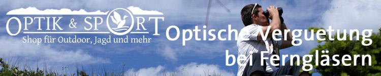 Optische Vergütung Fernglas