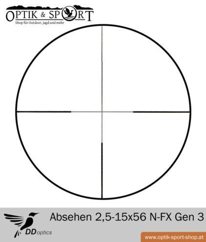 DDoptics 2,5-15x56 N-FX Zielfernrohr Gen 3