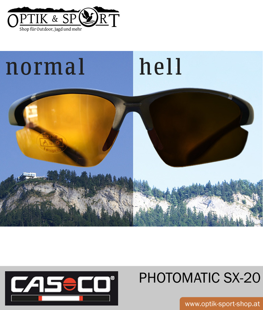 Brille CASCO Photomatic SX-20 Anwendung