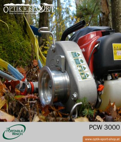 Portable Winch PCW3000 Anwendungsbeispiel