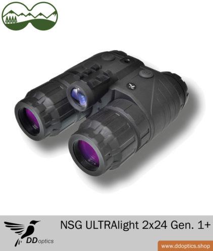 DDoptics Nachtsichtgerät ULTRAlight 2x24 Gen. 1+