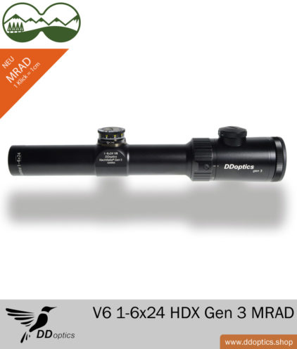 DDoptics V6 1-6x24 Zielfernrohr