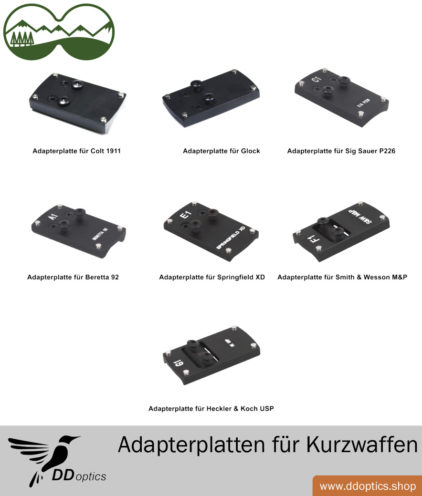 Montage / Adapterplatte Für DDsight Mini