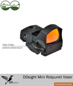 DDoptics DDsight Mini Rotpunkt Visier