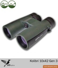 DDoptics Fernglas Kolibri 10x42 Generation 3